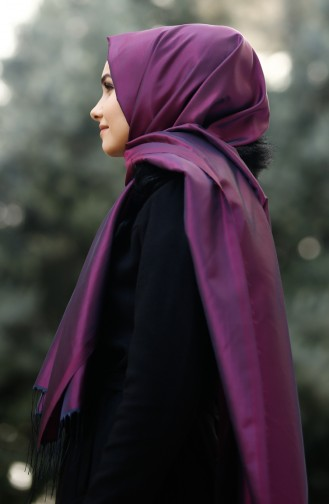 Light purple Sjaal 30