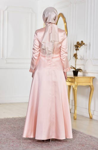 Puder Hijab-Abendkleider 1862-02