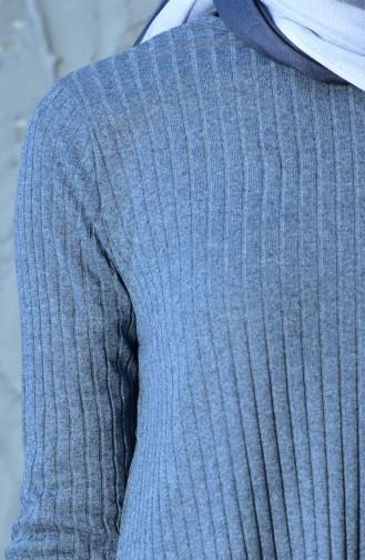 Tunik Pantolon İkili Takım 4516-06 Gri 4516-06