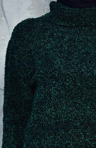 Triko Uzun Kazak 4022-06 Yeşil