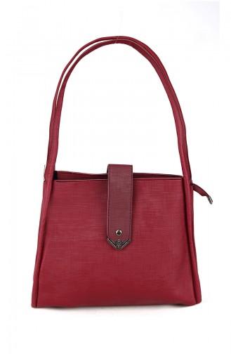 حقيبة كتف أحمر كلاريت 10463BO