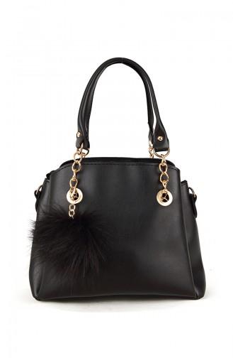 Black Shoulder Bag 10476SI