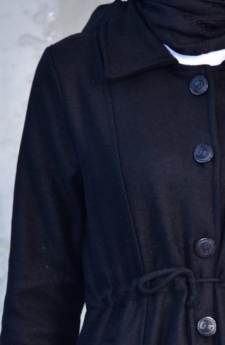 Belt Button Fleece Cap 2034-05 Black 2034-05