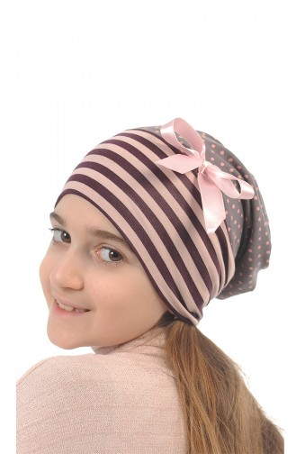 Salmon Hat and bandana models 165