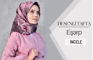 Desenli Tafta Eşarp 901398