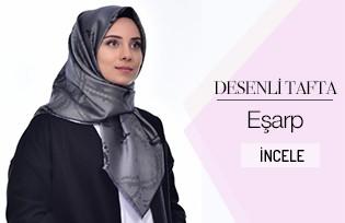 Desenli Tafta Eşarp 901402