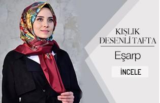 Kışlık Desenli Eşarp 901399