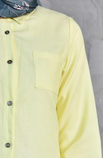Cepli Tunik 6122-07 Sarı