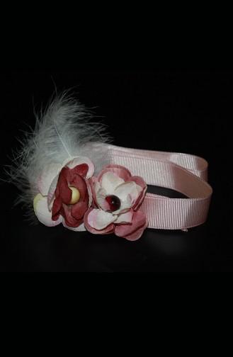 Pink Hat and bandana models 7