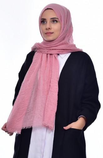 KRASLICE Crepe Shawl 2105-04 Powder Pink 2105-04