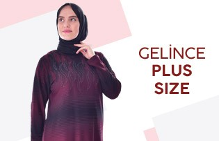 GELİNCE PLUS SİZE