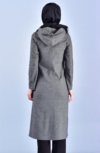 Hooded Cap 0047-01 Gray 0047-01