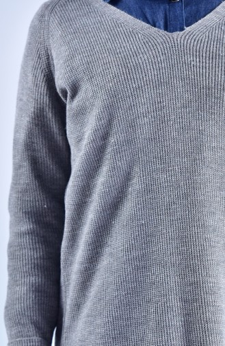 Pull Tricot 2022-12 Gris 2022-12