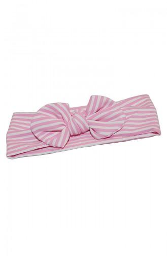 Pink Hat and bandana models 006