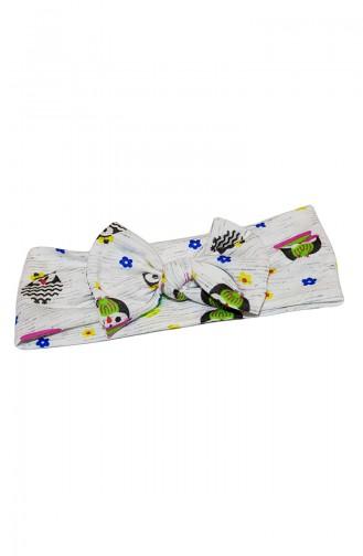 Kinder Bandana mit Fliege BB018 Farblich 018