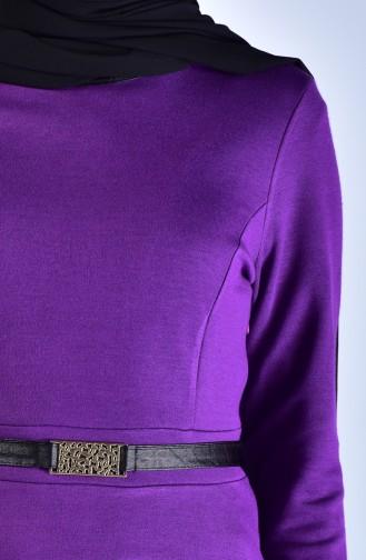 Purple Dress 7128B-01
