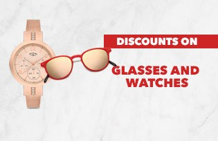 GLASSES AND WATCH DEALS