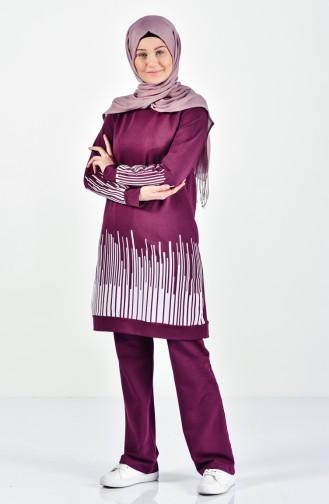 Purple Sweatsuit 0395-03