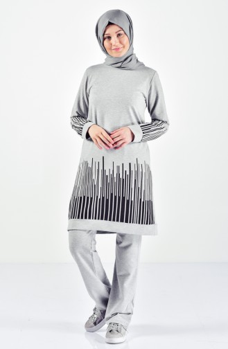Gray Sweatsuit 0395-05