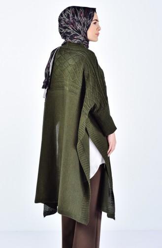 Khaki Poncho 2202-04