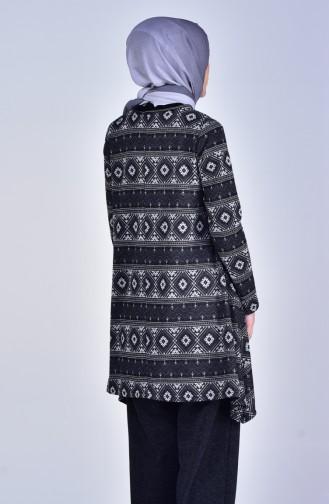 Tunik Pantolon İkili Takım 2991-02 Antrasit