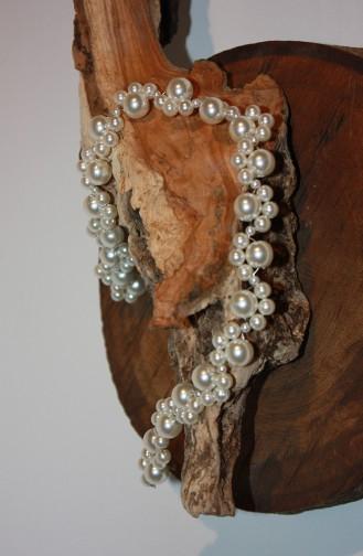 Cream Bridal Hair Accessories 3