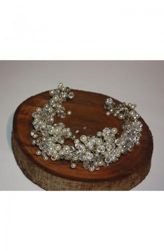 Cream Bridal Hair Accessories 6