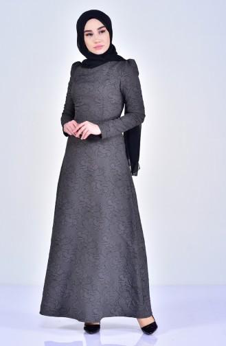 Khaki Dress 7221-02