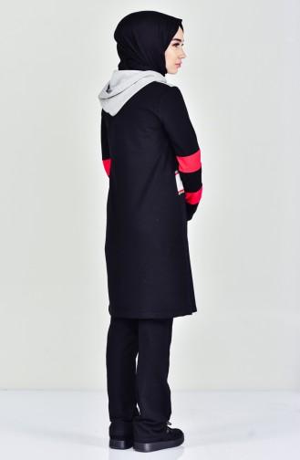 Eşofman Takım 0398-01 Siyah 0398-01