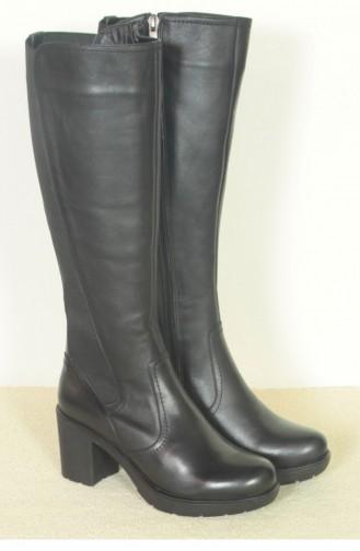 Margin Barve Flat Boot Black 18K02800SJ106586_001