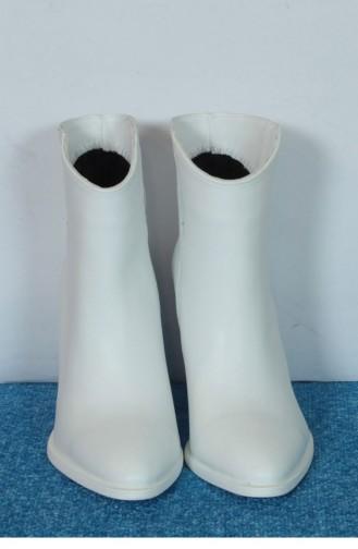 Marjin Marat Heeled Boot White 18K02000ER1882_023