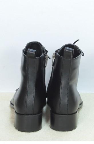 Marjin Mekila Flat Boot Black 18K00040IN572_001