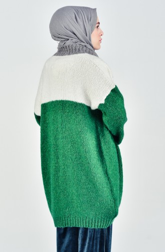 Tricot Bat Sleeve Cardigan 4738-01 Green 4738-01