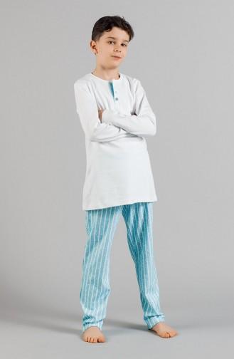 Boys´ Pajamas Set 17ECP0005 Blue 17ECP0005