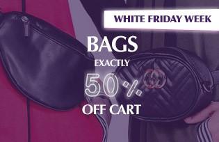 Çantalar Sepette Net %50 İndirim