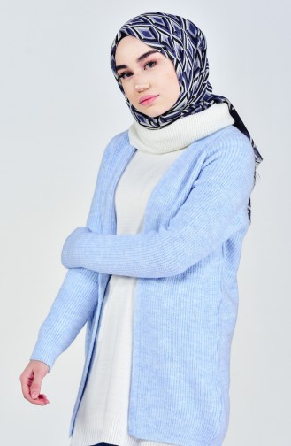 Tricot Cardigan 4644-05 Baby Blue 4644-05