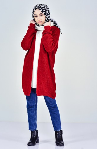 Tricot Cardigan 4644-06 Red 4644-06
