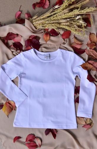 Body Manches Longue Lycra Pour Enfant 1005-01 1005-01