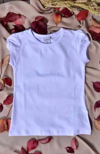 Body Manches Courtes Basic Pour Enfant 31002-01 31002-01