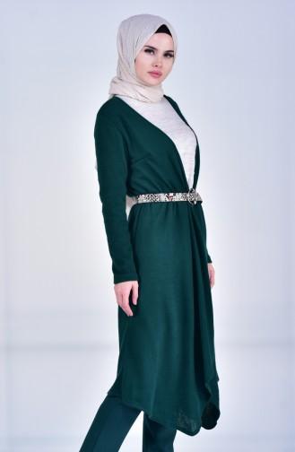 Triko Hırka 3036-05 Yeşil