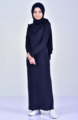 Navy Blue Dress 2992-03