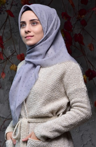 Gray Scarf 19044-04