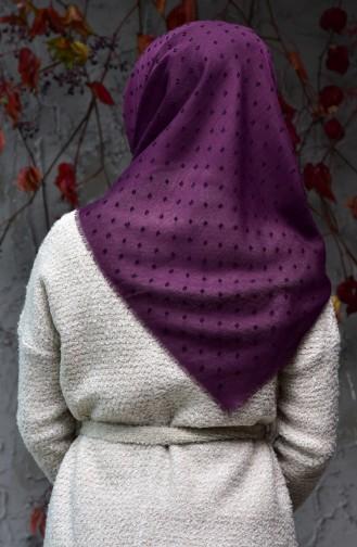 Purple Scarf 19044-10