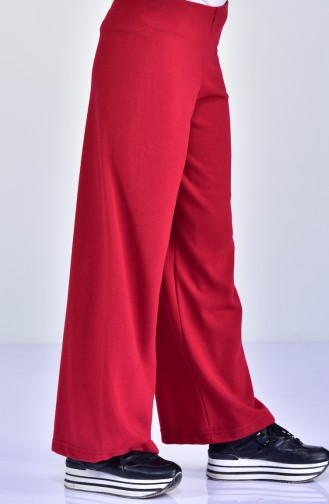 Claret red Pants 8013-01