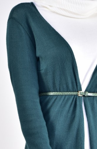Tricot Cardigan 3036-02 Emerald Green 3036-02
