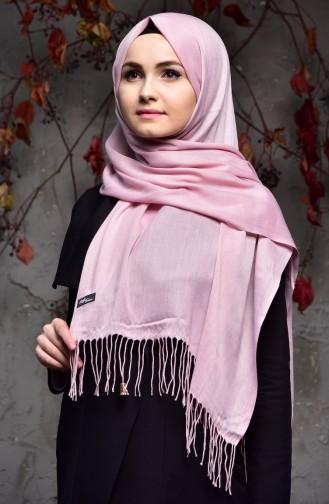 Plain Thin Pashmina Shawl 901405-17 Dark Powder 901405-17