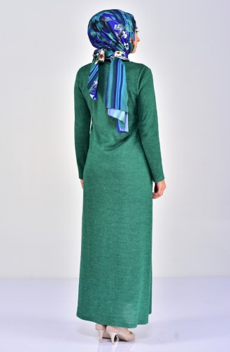 TUBANUR Knitwear Dress 7218-06 Light Green 7218-06