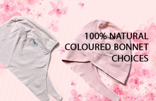 100% Natural Coloured Bonnet Choices