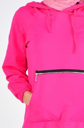 Fuchsia Sweatsuit 10265-03