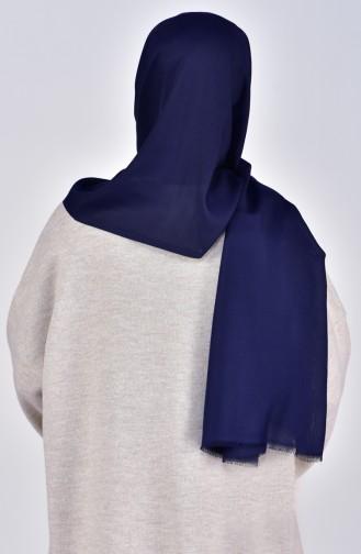 Châle Coton 19045-02 Bleu Marine 19045-02